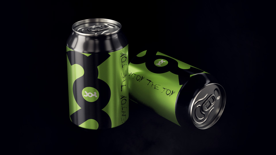 Joy low-alcohol drink, Branding